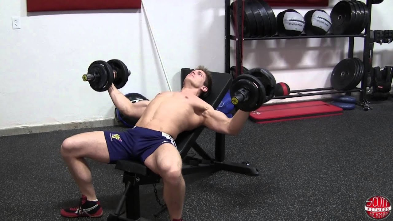 dumbbell bench press exercise tutorial fix your form now muscle gain variations html 2