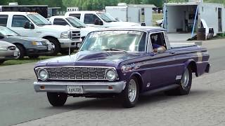 """FORD FALCON RANCHERO """"KILLER BIG CAM"""" SUPER PRO..RIDE BY..AWESOME WOW!"""