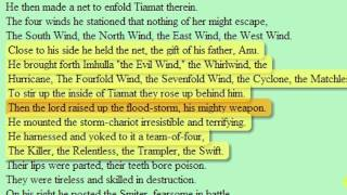 Weather control weapons capable of creating flood mentioned by Sumerian genesis ENUMA ELISH.