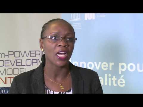 ITU UNESCO Policy Forum: H.E Aminata Sana-Congo, Minister, Dev. of the Dig. Econ. , Burkina Faso
