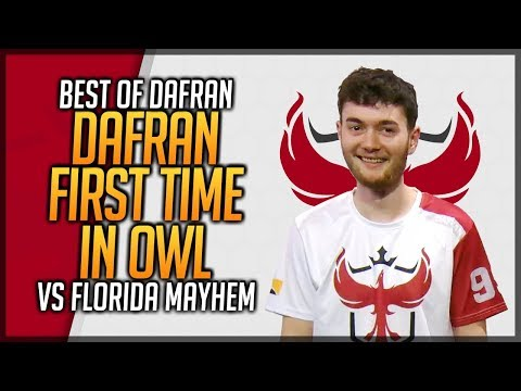 dafran POV GOD AIM Vs Florida Mayhem - dafran First Time In Overwatch League Season 2 thumbnail