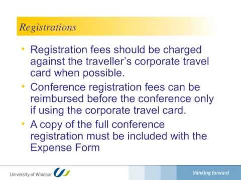 travel card presentation
