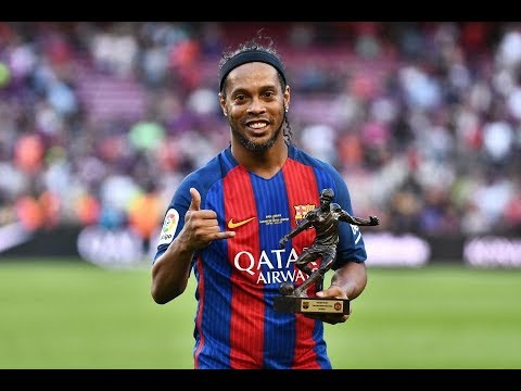 Ronaldinho Legend Rockstar Youtube