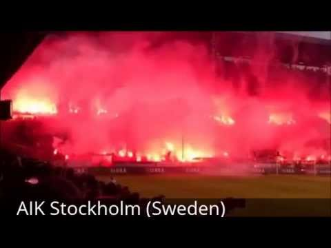 PYRO FOOTBALL CULTURE - best pyro in the world