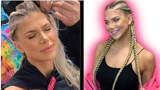 My Girlfriend Gets Cornrows For The First Time | CA4EVER