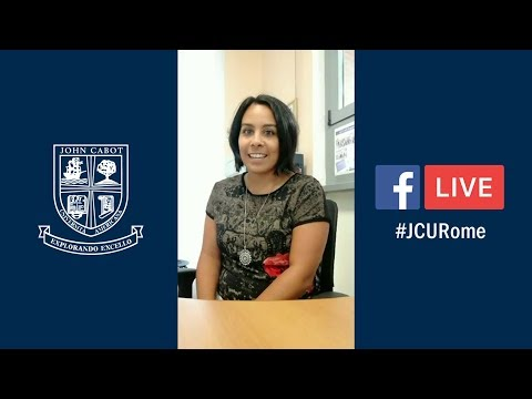 #JCURome Facebook Live: Orientation & Immigration for Study Abroad Students
