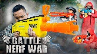 Battle Nerf War: Nerf Fortnite Blasters Battle Royale