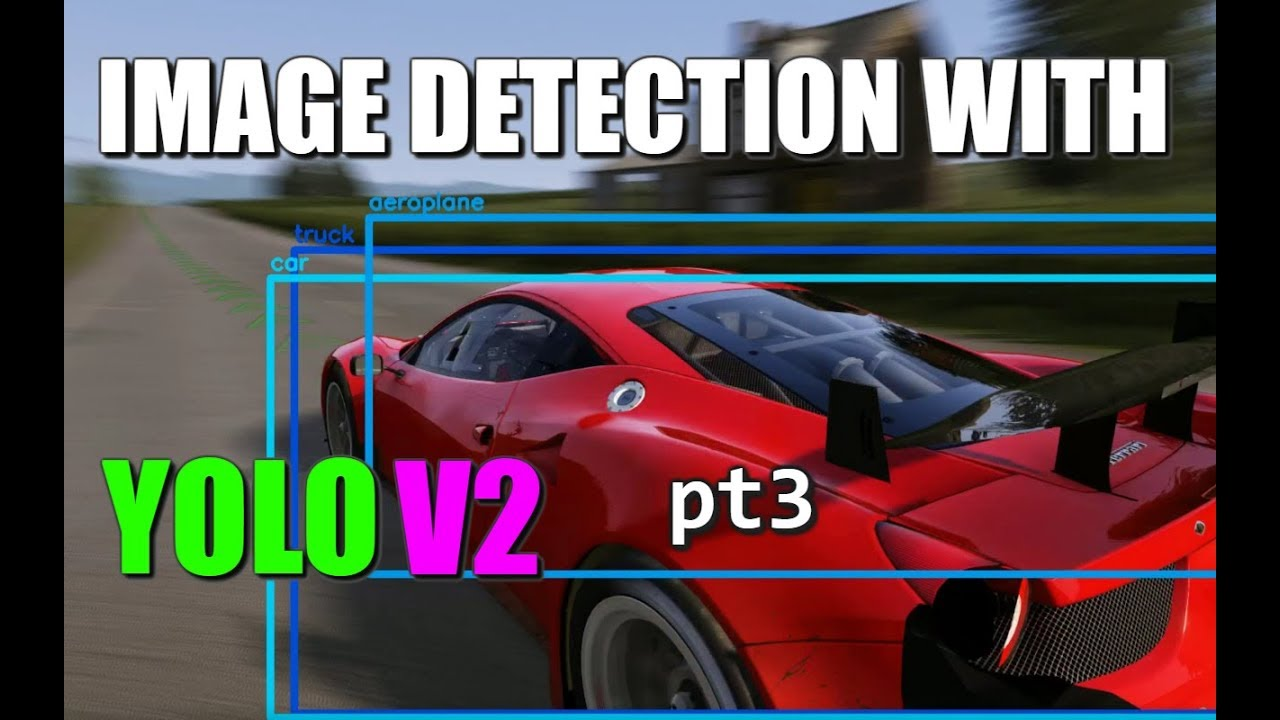Image Detection with YOLO v2 (pt 3) Process Video in Python + openCV