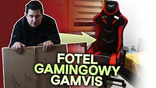 Gamvis Furioso - Duży materiałowy fotel gamingowy na Twoją kieszeń! - Unboxing i Recenzja