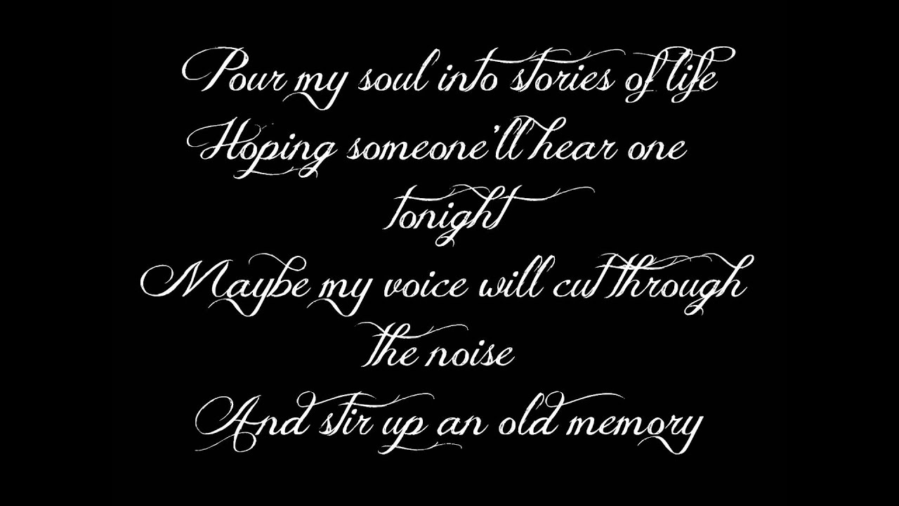 David Nail - The Sound of a Million Dreams +Lyrics on Screen - YouTube