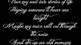 David Nail - The Sound of a Million Dreams +Lyrics on Screen