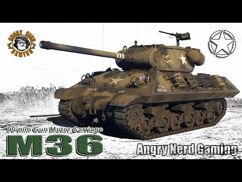 War Thunder: M36 GMC, American, Tier-4, Tank Destroyer