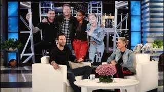 Adam Levine Gripes About Blake Shelton and Gwen Stefani's PDA