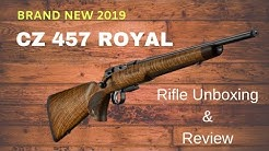 CZ 457 Royal 22lr Rifle - BRAND NEW 2019