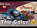 2018 Indian Chief Vintage Review - Test Ride | Rider DROPS BIKE!