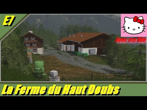 farming simulator 2015 walchen map v 1 0 la ferme du haut doubs auto cole fr youtube. Black Bedroom Furniture Sets. Home Design Ideas