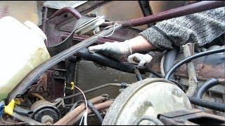 ремонт Нива.Замена радиатора и термостата  на ваз 21213-21214(VIS-23461)двигатель инжектор об.-1,7л