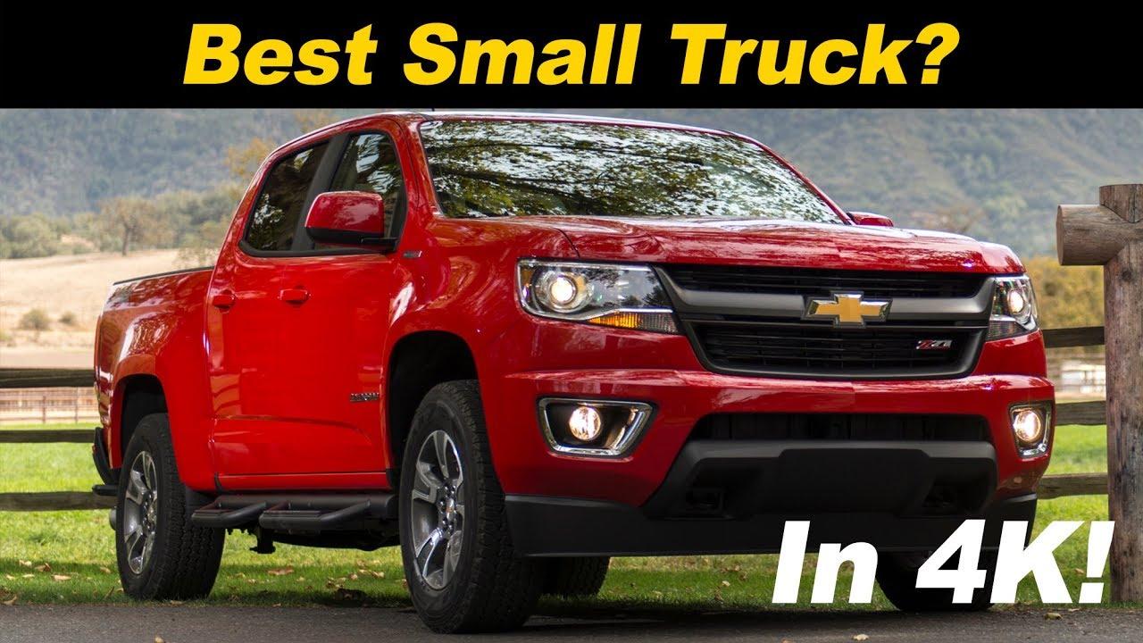 2018 Chevrolet Colorado Pickup Review Comparison
