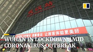 China coronavirus: big-city Wuhan in lockdown with travel ban meant to stop spread