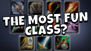 Which Class in WoW is the Most Fun to Play?  -  A Discussion/Machinima
