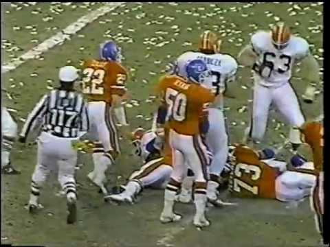1987 AFC Championship Game Broncos vs  Browns The Fumble 2nd Half