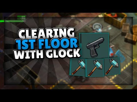 CLEARING 1ST FLOOR WITH 1 GLOCK AND MEELES   Last Day On Earth: Survival