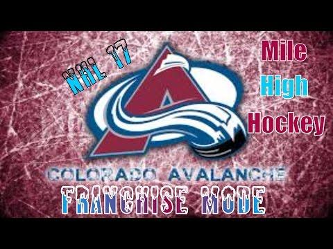 NHL 17 Colorado Avalanche Franchise Episode 29: Round 3