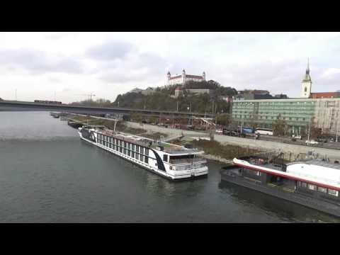 Bratislava, Slovakia From the Air