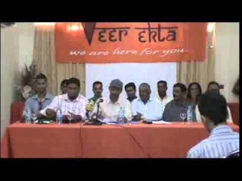 Conférence de presse de Veer Ekta Association