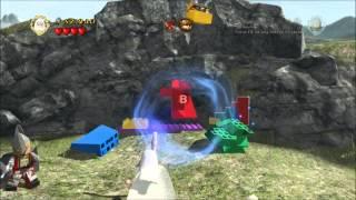 Warg Attack - 10 Minikits, 3 Treasures, Blacksmith Recipe, x2 Studs, Quests - Lego LOTR