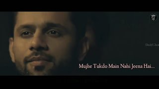 Tum Toh Thehre Pardesi | Mujhe Tukdo main Nahi Jeena Hai Rajeev Raja | New Whatsapp Status Video