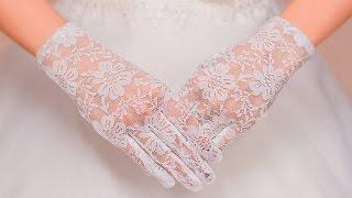 видео Свадебные перчатки