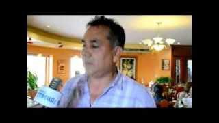 Miguel Ángel Tello Romero encargado de control ambiental comenta sobre la limpieza publica