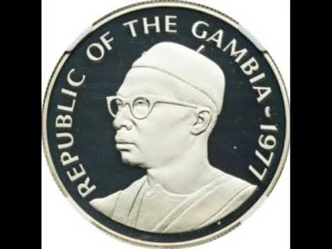 Coins of Gambia - Dalasi of the Gambia - commemorative coins - numismatics