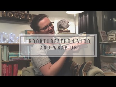 Booktubeathon Vlog and Wrap-up | Lauren and the Books
