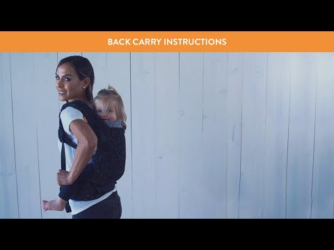 How to Back Carry in Your Tula Baby Carrier