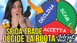 La RUOTA DECIDE i MIEI SCAMBI in un server RICCO 😱 Roblox ADOPT ME ITA By FrancyDreams