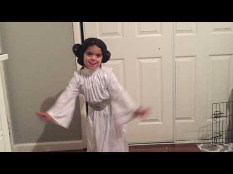 Princess Leia dancing Juju on that beat