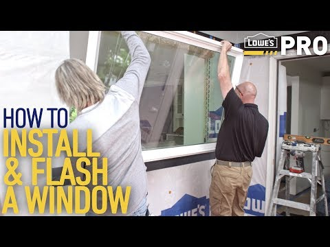 How To Install A Window | Lowe's Pro How-To