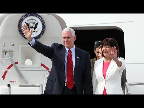 Thumbnail: Pence arrives in S. Korea amid rising tensions on Peninsula