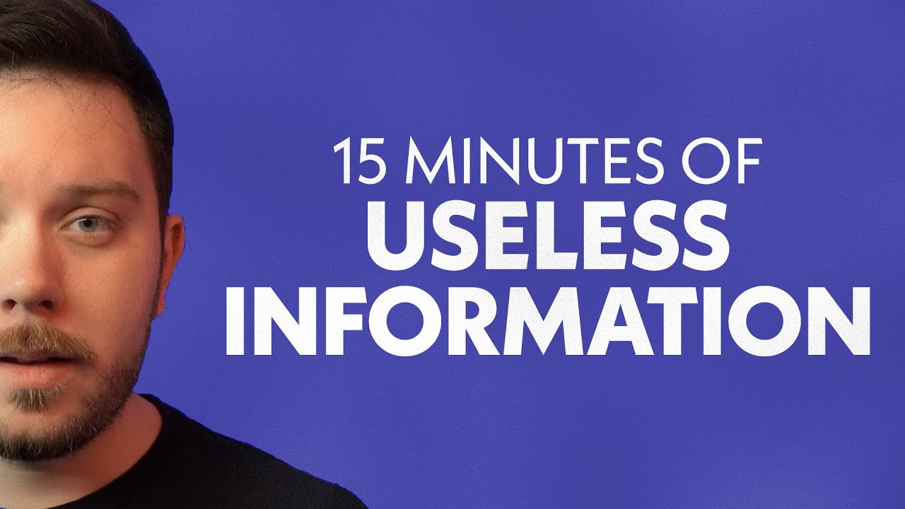 Download A Solid 15 Minutes of Useless Information