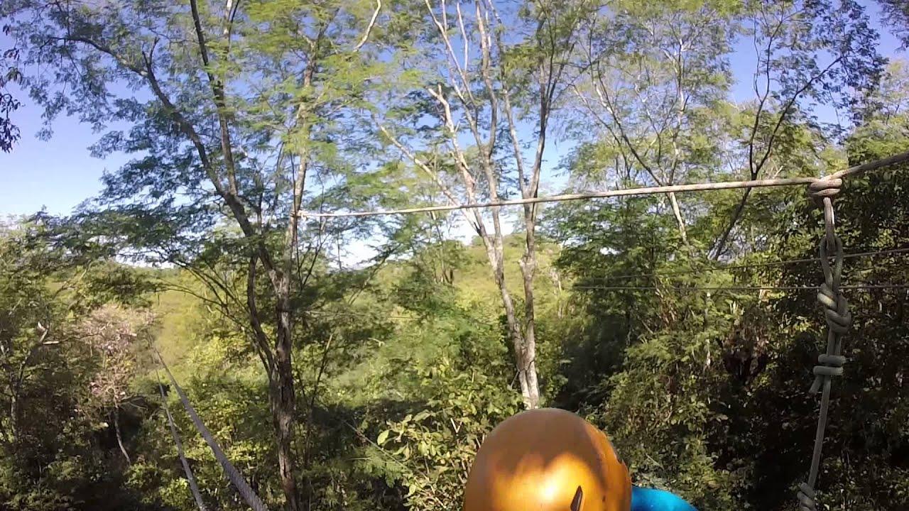 ziplines Huana Coa Canopy Adventures Mazatlan Mexico & ziplines Huana Coa Canopy Adventures Mazatlan Mexico - YouTube