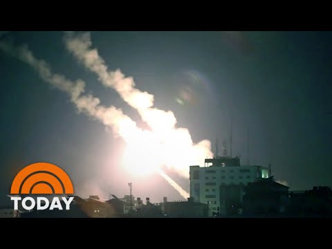 Israel Launches Artillery And Airstrikes Against Gaza