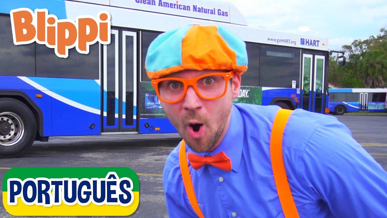 Blippi Explora um Ônibus | Vídeos Educativos para Crianças | As Aventuras de Blippi