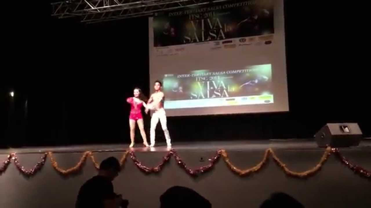 ulric sng & rachel chan at itsc 2014 (amateur category, 2nd runner
