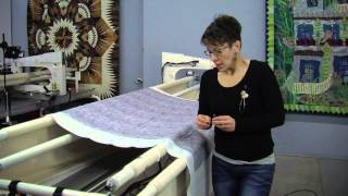 video 1 preparing your quilt for longarm quilting