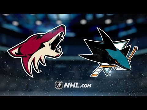 Sharks fend off Coyotes in 4-1 win