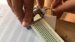 Lucho Milocco Petricor 15 notes Music box