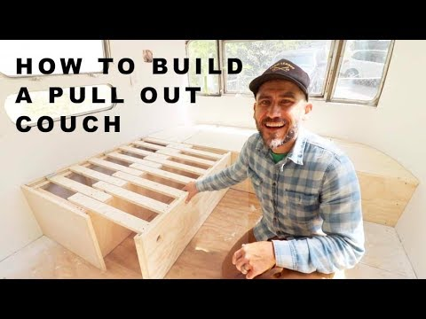 DIY Pull Out Couch | AIRSTREAM RENOVATION