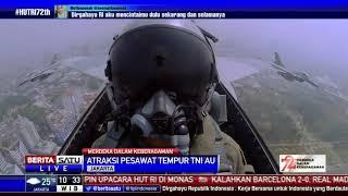 Download Video Atraksi Pesawat Tempur TNI AU di HUT ke-72 RI MP3 3GP MP4